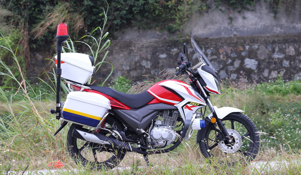 Low cost police motorcycle exporting from China